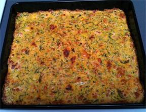 shredded zucchini pizza crust