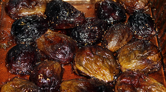 Roasted Figs - In the Kitchen with Kelly