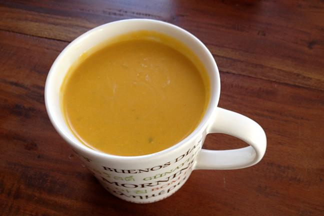 pumpkin quince soup