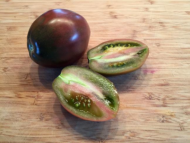 Purple Russian Tomatoes