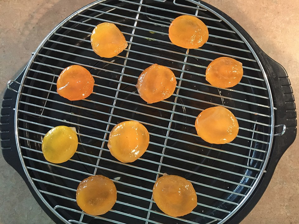cured egg yolks